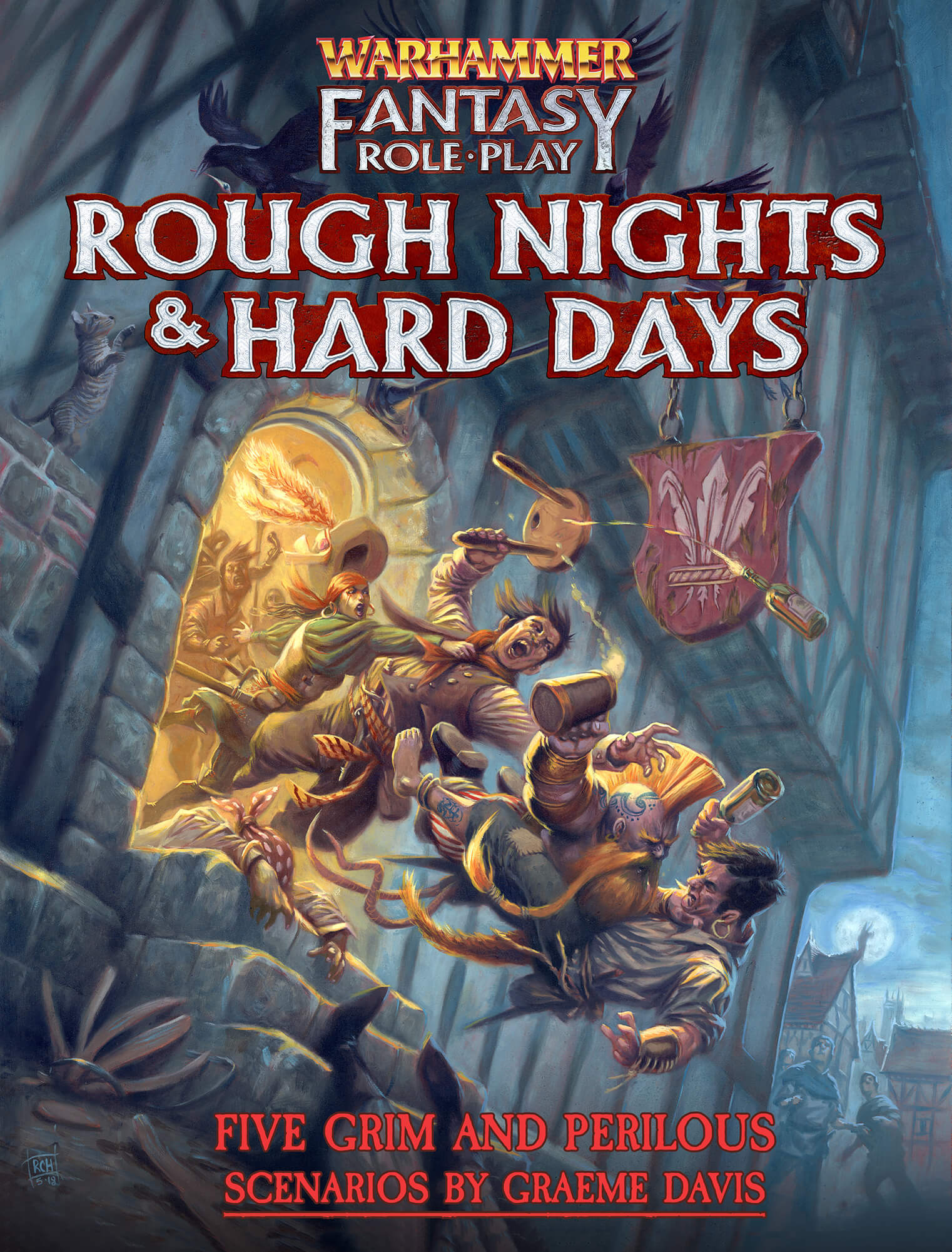 WFRP4 Rough Nights & Hard Days